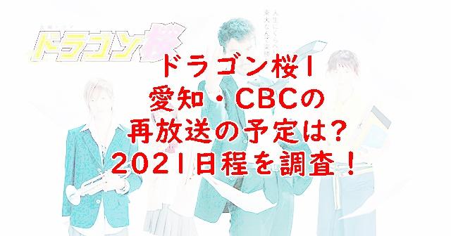 ドラゴン桜1再放送名古屋・CBC予定いつ?スケジュールを調査!